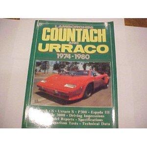 9780948207389: Brooklands Lamborghini Cars: Lamborghini Countach and Urraco 1974-80 (Brooklands Books Road Tests Series)