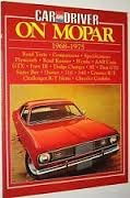 9780948207501: Car and Driver on Mopar: Mopar 1968-75 (Brooklands Books)