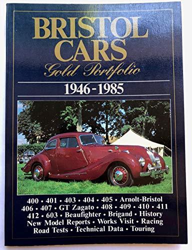 9780948207686: Bristol Cars Gold Portfolio 1946-1985