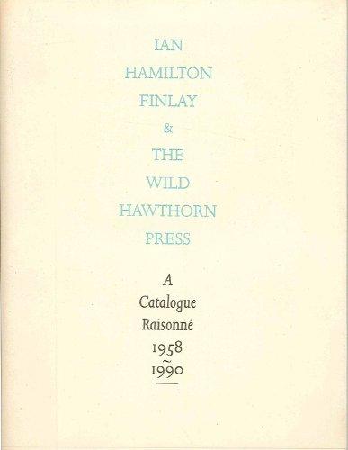 9780948274077: Ian Hamilton Finlay and the Wild Hawthorn Press
