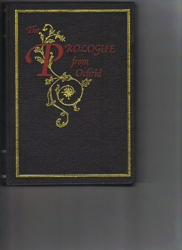 9780948298035: Prologue from Ochrid: Vol 1