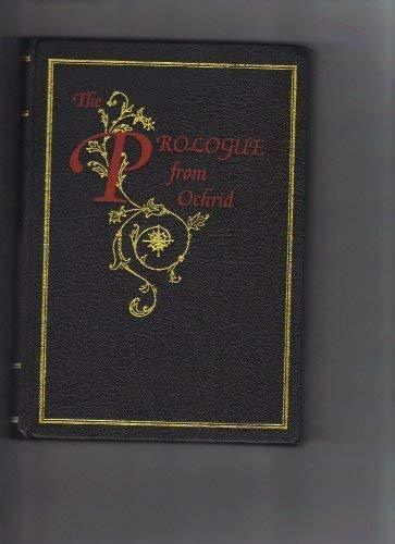 9780948298059: Prologue from Ochrid: Vol 2
