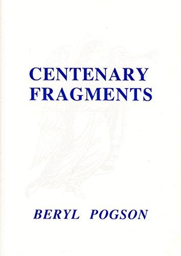 9780948333361: Centenary Fragments