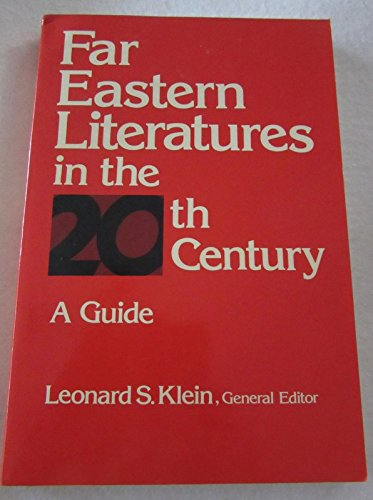 9780948353178: Far Eastern Literature in the Twentieth Century: A Guide