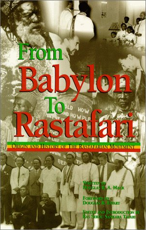 9780948390470: From Babylon to Rastafari: Origin and History of the Rastafarian Movement