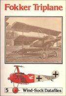 Fokker Triplane (Wind~sock Datafiles # 5): Rimell, Raymond Laurence
