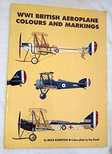 9780948414657: WWI British Aeroplane Colours and Markings