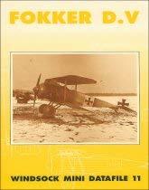 9780948414916: Windsock Mini Datafile 11 - Fokker D.V