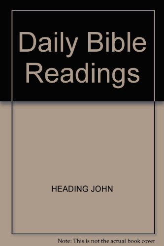 9780948417306: DAILY BIBLE READINGS