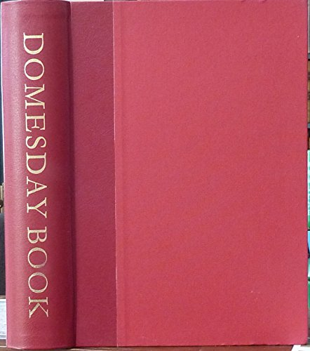 Great Domesday Book: Oxfordshire: County Edition (Alecto county edition of Domesday Book): T.D. ...