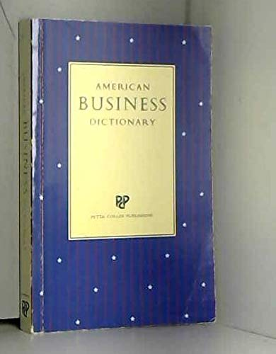 9780948549113: American Business Dictionary