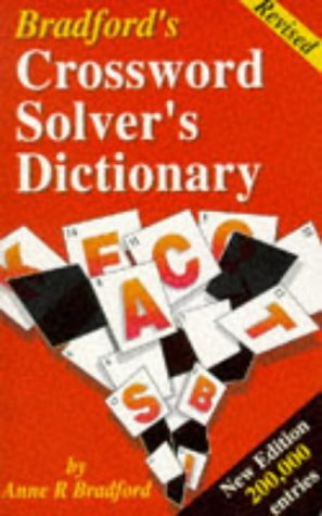 9780948549397: Bradford's Crossword Solver's Dictionary
