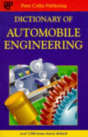 9780948549663: Dictionary of Automobile Engineering