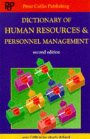 Dictionary of Human Resources and Personnel Management: A. Ivanovic; Peter