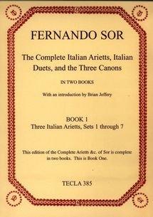 9780948607370: The Complete Italian Arietts Etc: Bk. 1