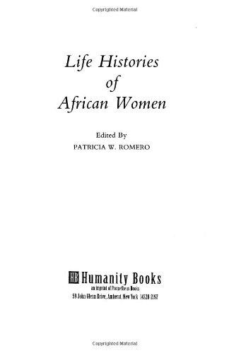 9780948660054: Life Histories of African Women