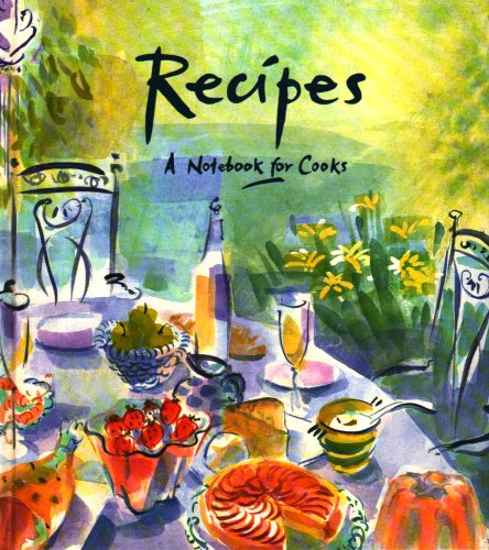 9780948751028: Recipes: A Notebook for Cooks