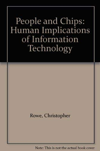 9780948825002: People and Chips: Human Implications of Information Technology