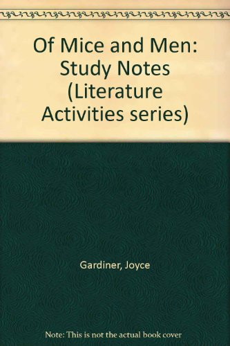9780948865329: Of Mice and Men: Study Notes (Literature Activities series)