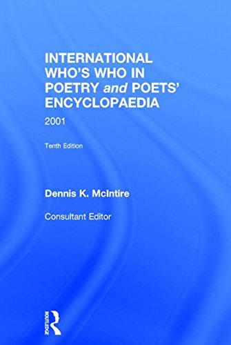 International Who's Who In Poetry and Poets': MCINTIRE, DENNIS.