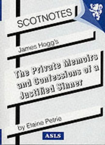 9780948877056: James Hogg's the Private Memoirs and Confessions of a Justified Sinner (Occasional Paper)