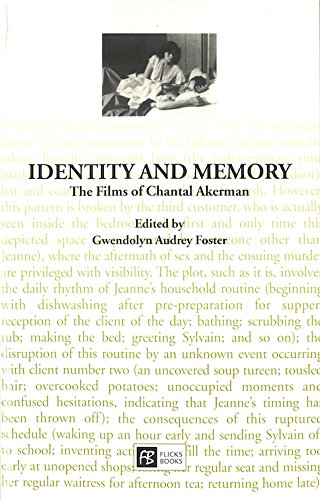 9780948911040: Identity and Memory: The Films of Chantal Akerman (Cinema Voices)