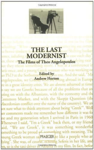 9780948911798: Last Modernist, The: Films of Theo Angelopoulos