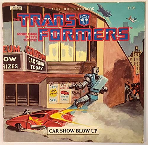 9780948936357: Transformers Car Show Blow Up (A Big Looker Storybook)