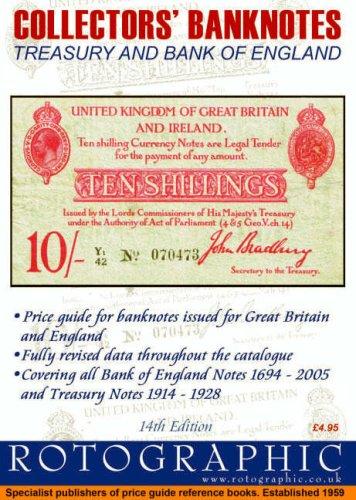 9780948964589: Collectors Banknotes: Treasury and Bank of England