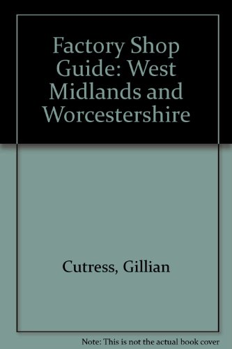 Western Midlands The Factory Shop Guide: Author Not Credited