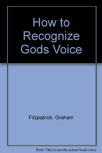 9780948985010: How to Recognize Gods Voice
