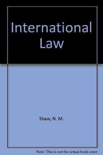 9780949009951: International Law