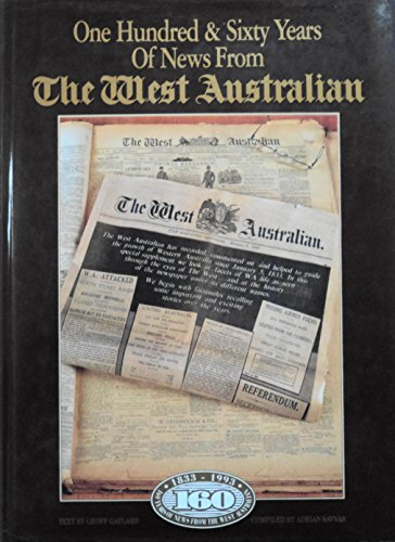 9780949155245: 160 Years of News from the West Australian