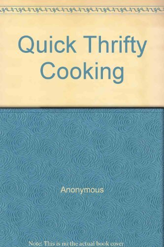 Reader's Digest Quick, Thrifty Cooking