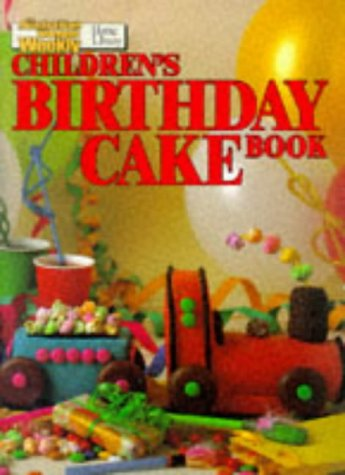 """Childrens Birthday Cake Book (""""Australian Womens Weekly"""""""