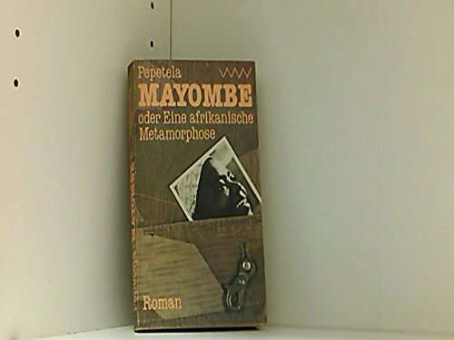 9780949932686: Mayombe (ZPH writers series 18) (German Edition)