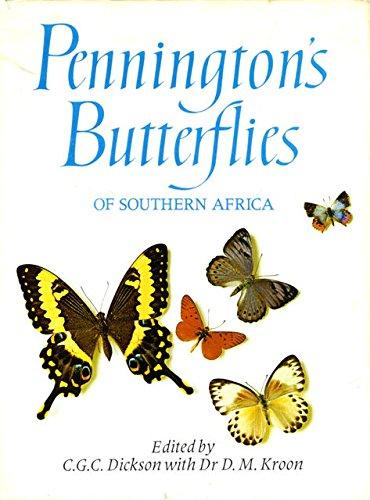 9780949937483: Pennington's Butterflies of Southern Africa