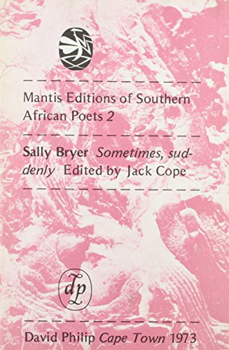 Sometimes, Suddenly: Bryer, Sally