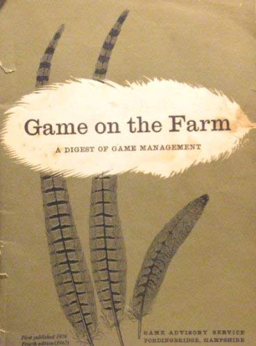 9780950013008: Game on the Farm