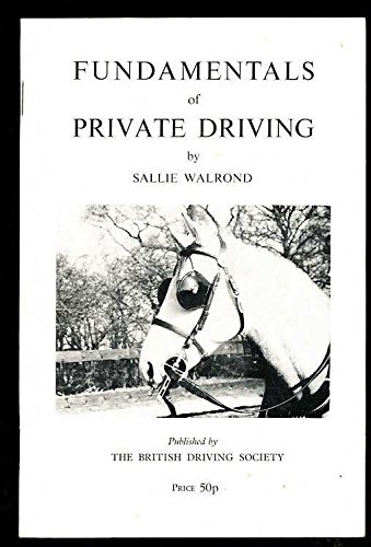Fundamentals of Private Driving: SALLIE WALROND