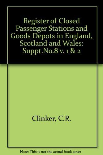Register of Closed Passenger Stations and Goods: C.R. Clinker