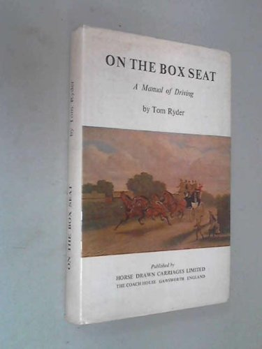9780950080406: On the Box Seat: Manual of Driving