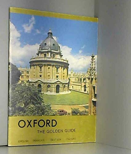 9780950133713: Oxford: The Golden Guide (French, German, Italian and English Edition)