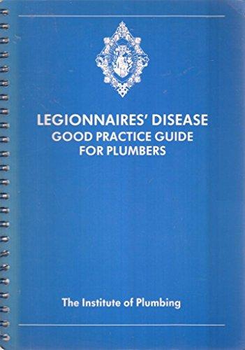 Legionnaires' Disease - Good Practice guide for: James Frederick Hodgson