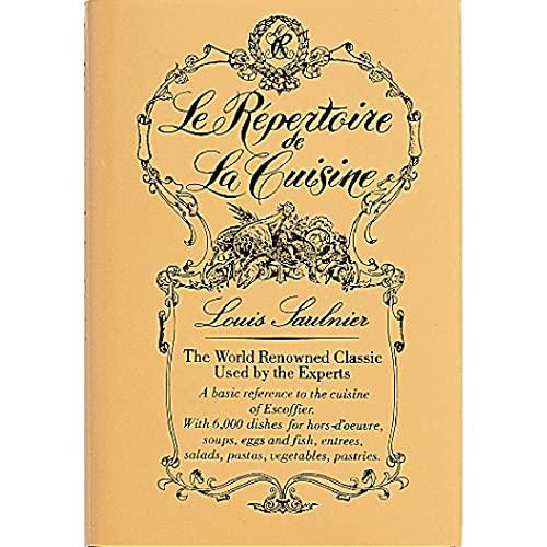 9780950187501: Le Repertoire de la Cuisine