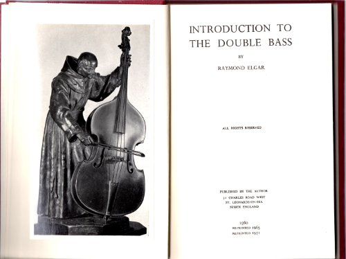 9780950243115: Introduction to the Double Bass