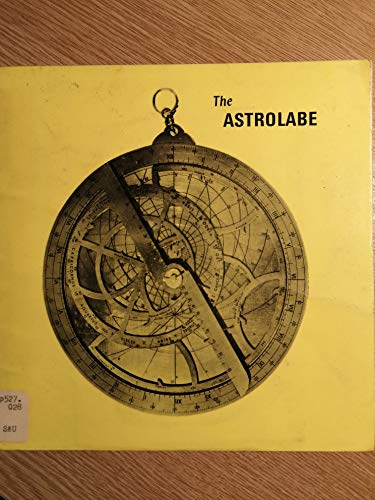 The astrolabe: A brief account of its: H. N Saunders
