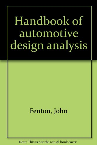9780950282008: Handbook of automotive design analysis,