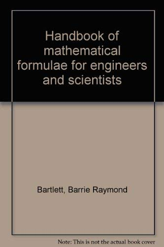Handbook of Mathematical Formulae for Engineers and