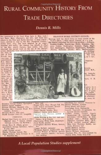 Rural Community History from Trade Directories (Local: Mills, Dennis R.